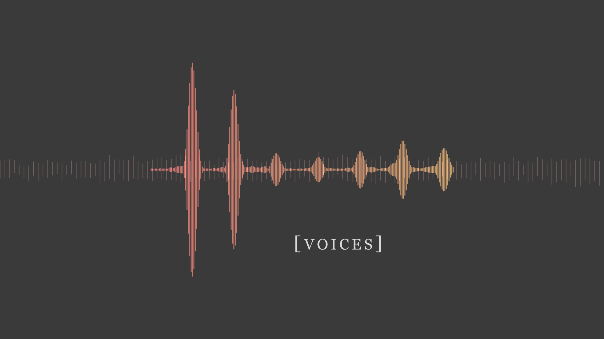 Voices: Week 3
